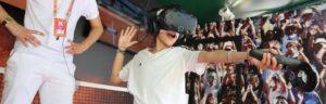 Roland Garros et la Réalité Virtuelle