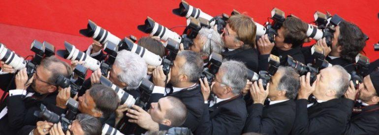 Journalistes au Festival de Cannes