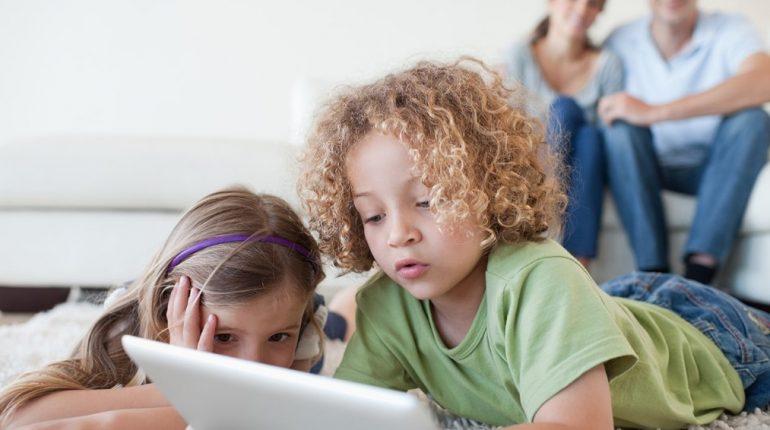 Enfants sur internet