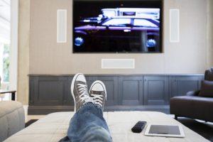 Personne devant la télévision